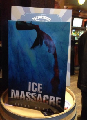 ice massacre banner giant book