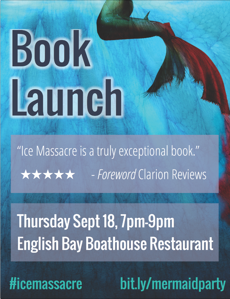 The complete book launch party checklist tiana warner ice massacre launch flyer promo stopboris Choice Image