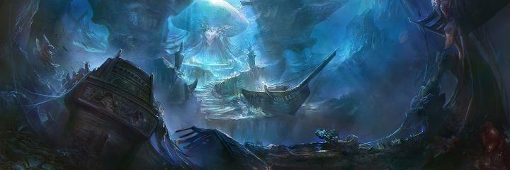 Realm of the Mermaid Goddess by rong rong